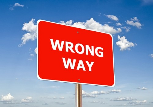 false-wrong-way