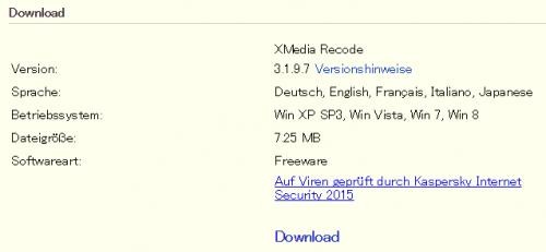 XMedia Recode (1)