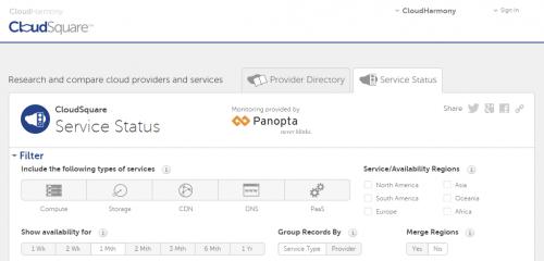 CloudSquare Service Status (1)