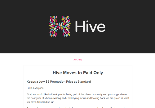 Hive-Moves-to-Paid-Only
