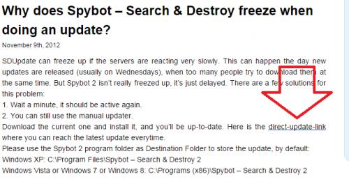 Spybot Manual Update (1)