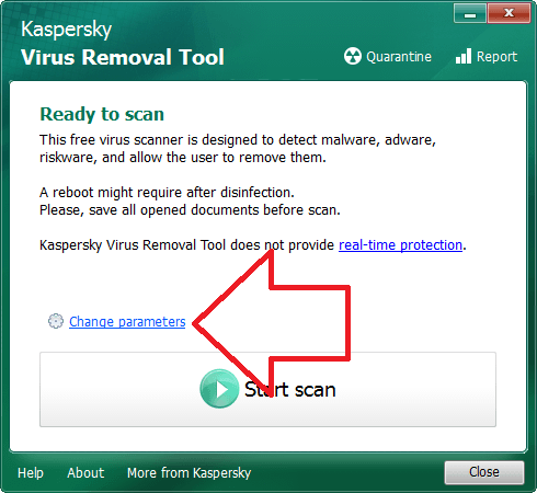 Kaspersky Virus Removal Tool (6)