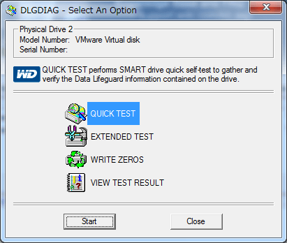 Data Lifeguard Diagnostic for Windows (10)