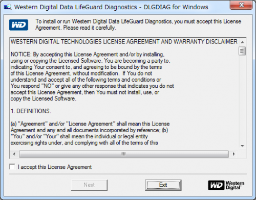 Data Lifeguard Diagnostic for Windows (7)