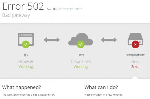 Cloudflare error 1000