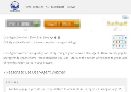 User-Agent Switcher (4)