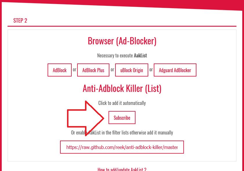 Anti-Adblock】Adblock・uBlockお断りサイトを見る方法 | ハルパス